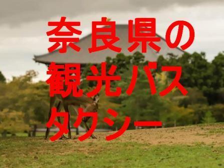 奈良県の観光バス・タクシー